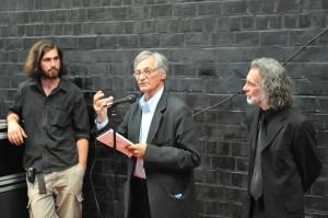 Opening Tempus Arti, gastcurator Jan Hoet (c) G. Wouters